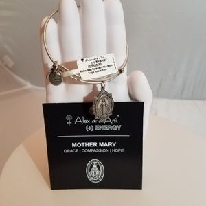 Alex and Ani Mother Mary Miraculous bangle